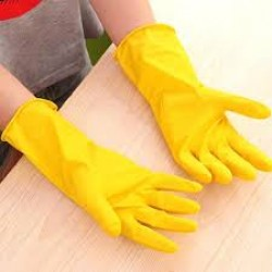 GLOVES YELOW